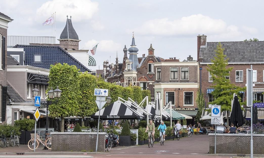 Binnenstad Assen klaar voor opening terrassen