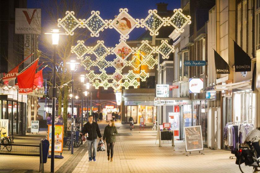 Vizier op Koopmansplein en nieuwe inrichting winkelstraten