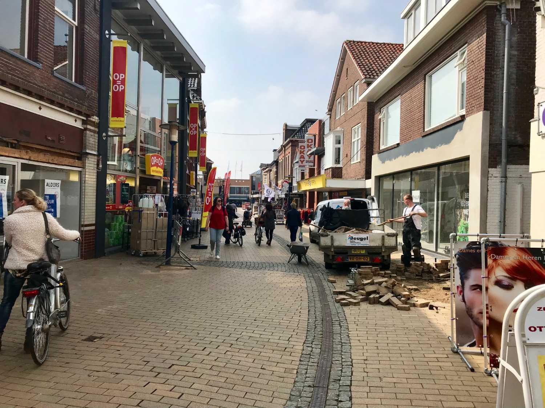 Start werkzaamheden Oudestraat